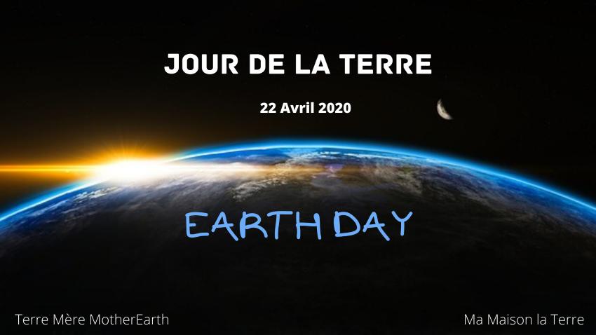 Heureux Jour de la Terre à tous